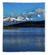 Wonder Lake Fleece Blanket