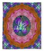 Wonderful Rose Petal Art Fleece Blanket