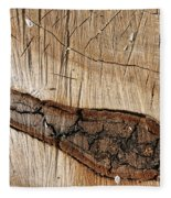 Wood Design Fleece Blanket