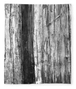 Wood Texture Fleece Blanket