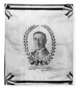Woodrow Wilson Bandana Fleece Blanket