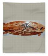 Woodwork Fleece Blanket