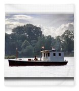 Workboat Fleece Blanket