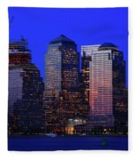 World Financial Center New York Fleece Blanket