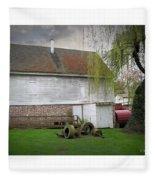 Wye Mill Fleece Blanket