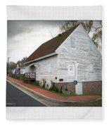 Wye Mill - Street View Fleece Blanket