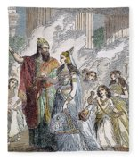 Xerxes I & Esther Fleece Blanket