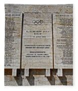 Xi. Olympic Games 1936 - Berlin Fleece Blanket