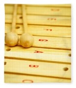 Xylophone Fleece Blanket
