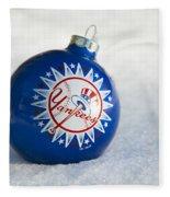 Yankees Ornament Fleece Blanket