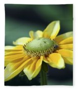 Yellow Daisy Fleece Blanket
