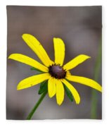 Yellow Star Fleece Blanket