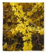 Yellow Strand Fleece Blanket