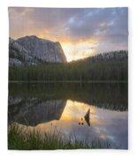 Yellowjacket Lake Fleece Blanket