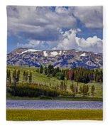 Yellowstone National Park Fleece Blanket