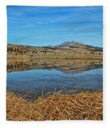 Yellowstone Reflections 9437 Fleece Blanket
