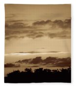 Yesteryears Sunset Fleece Blanket