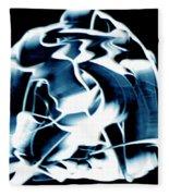 Ying Yang Paint And Photo Fleece Blanket