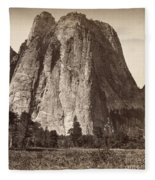 Yosemite: Cathedral Rock Fleece Blanket