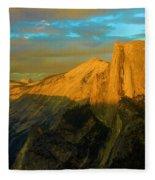 Yosemite Golden Dome Fleece Blanket