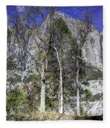 Yosemite Reflection Fleece Blanket