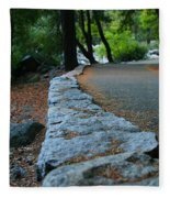 Yosemite Walk Way Fleece Blanket