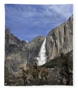 Yosemite Water Fall Fleece Blanket