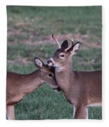 Young Bucks Fleece Blanket