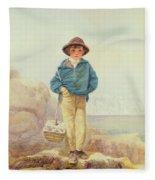 Young England - A Fisher Boy Fleece Blanket