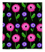 Young Florals  Fleece Blanket