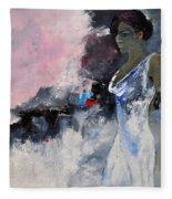Young Girl 772130 Fleece Blanket