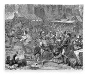 Young Thief, 1868 Fleece Blanket