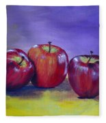 Yummy Apples Fleece Blanket