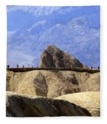 Zabriske Point Fleece Blanket