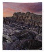 Zabriske Sunset Fleece Blanket