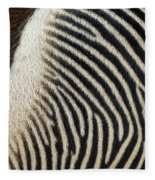 Zebra Caboose Fleece Blanket