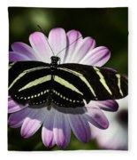 Zebra Longwings Fleece Blanket