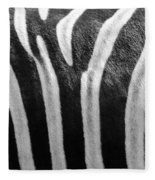 Zebra Print Fleece Blanket
