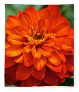 Zinnia Flare Fleece Blanket