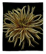Zinnia  Fleece Blanket