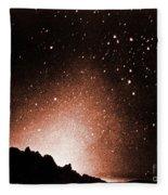 Zodiacal Light Fleece Blanket