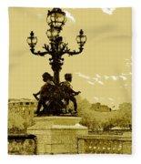 # 10 Paris France Fleece Blanket