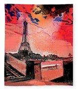 # 9 Paris France Fleece Blanket