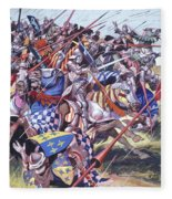Agincourt The Impossible Victory 25 October 1415 Fleece Blanket