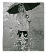 ... Another Rainy Day  Fleece Blanket