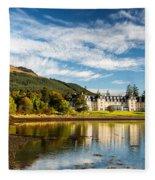 Ardgartan On The Banks Of Loch Long Fleece Blanket