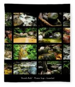 ' Australia Rocks ' Mossman Gorge - North Queensland Fleece Blanket