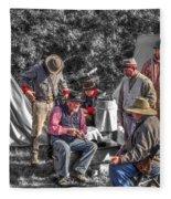 Battle Of Honey Springs V1 Fleece Blanket