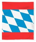 Bavaria Flag Fleece Blanket