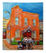 Beautiful Synagogue On Bagg Street Fleece Blanket